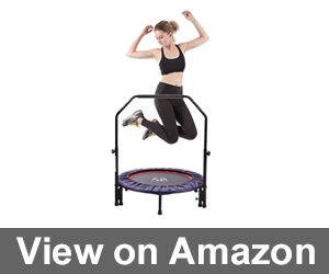 "PLENY 38"" Mini Fitness Trampoline Review"