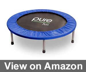 Pure Fun Mini Rebounder Trampoline Review