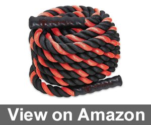 Battle Ropes with Anchor Kit and Nylon Protector Included Review