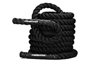 Firebreather battle ropes